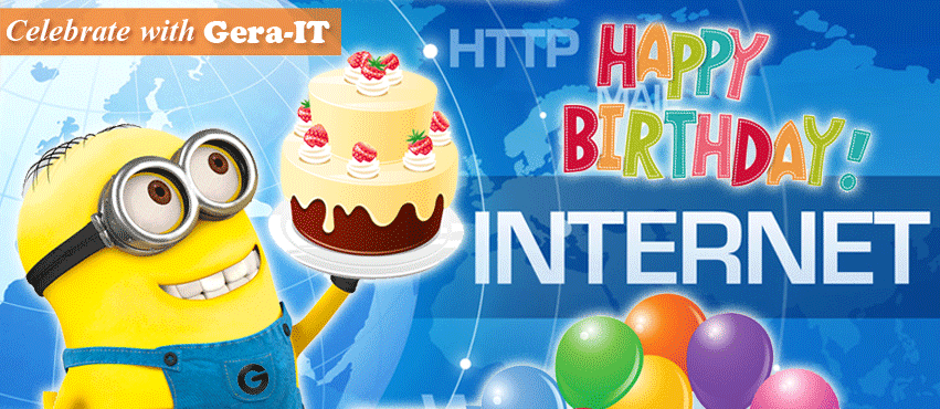 Happy Birthday Mr. Internet!!!