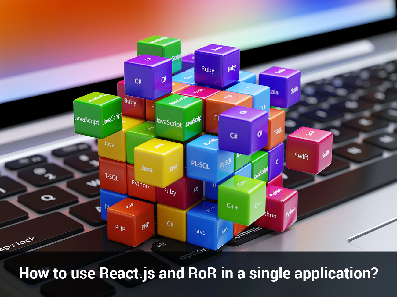 How to use React js and RoR in a single application? | Gera